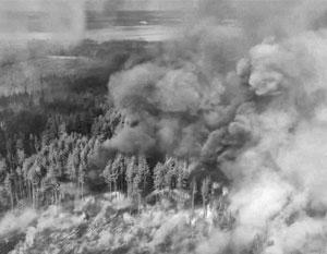 Чернобыльский дым отравил атмосферу не только над Украиной, но и за ее пределами