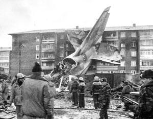 1997 год, Иркутск. Ан-124 упал на жилые дома сразу после взлета
