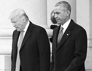 Два президента США серьезно злы друг на друга