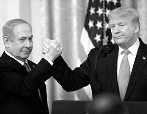 Нетаньяху очень рассчитывает на Трампа в деле приращения территории Израиля
