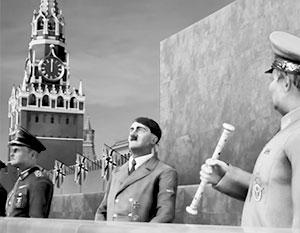 В фантазии разработчиков игры Гитлер принял парад с Мавзолея Ленина