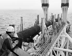 Специальное судно для прокладки газопровода уже находится в Балтийском море