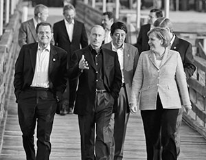 Владимир Путин уже участвовал во встречах G8, но в данном случае его зовут на совсем особый саммит