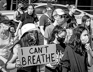 Большая часть протестов под лозунгом «Жизни черных важны» проходят мирно, не мешая никому и ничему, кроме дорожного движения