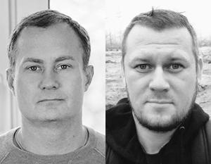 Сергей Гармаш (слева) и Денис Казанский – именно эти люди, по замыслу Киева, являются полномочными представителями ДНР