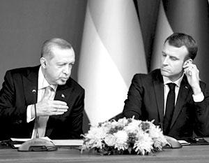 Президент Франции бросил вызов турецкому коллеге