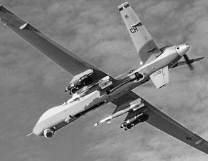 Боевой беспилотник поразил террориста инерционной ракетой с шестью ножами