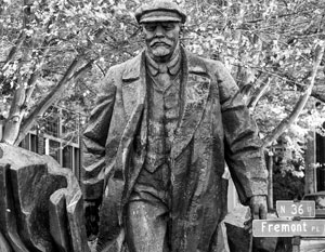 Памятник Ленину появился в Сиэтле (штат Вашингтон) в 1995 году