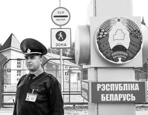 Из-за отсутствия пунктов погранконтроля проезд из Белоруссии в Россию для иностранцев был по сути закрыт