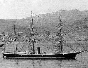 «Манджур» – первое судно на берегу Владивостока