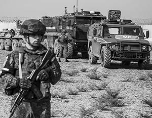 Российские военные вынуждены выполнять в Сирии в том числе гуманитарные миссии