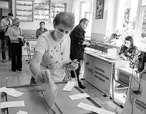 В высокой явке на голосовании большую роль сыграло одобрение действий власти