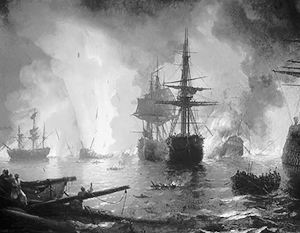 Чесменское сражение является одной из самых легендарных побед русского флота