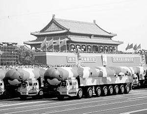 Через каких-то десять лет ядерный запас Поднебесной сравнится с американским и российским