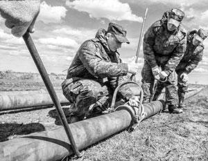 Военные строители сделали свою работу в кратчайшие сроки