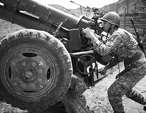 В конфликте между Арменией и Азербайджаном активно применяется в том числе артиллерия
