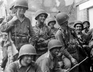 Американским солдатам Вторая мировая война куда чаще доставляла радость, чем унижение