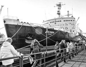 Атомоход «Ленин» оставил часть своего «мирного атома» у побережья Новой Земли