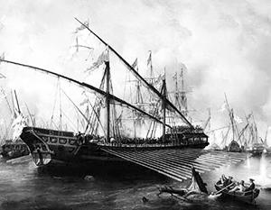 Русские галеры стали одним из главных инструментов победы при Гренгаме