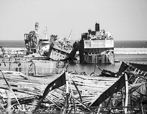 Морской порт был воротами Ливана во внешний мир. Теперь он попросту не существует