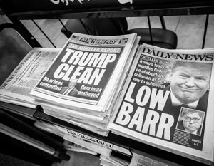 Американская печать больше не пользуется уважением читателей