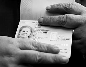 Первый гендерно-нейтральный паспорт, выданный в Нидерландах