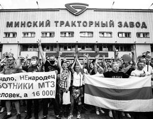 Промышленности Белоруссии угрожают стачки рабочих