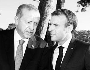 Эрдоган и Макрон крайне недовольны друг другом