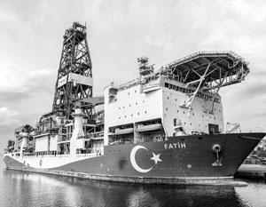 Турция мечтает добывать собственный газ
