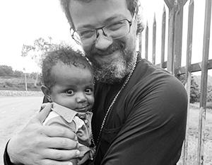 Иерей Кирилл Шкарбуль в Новой Гвинее