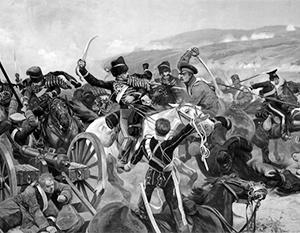 Фото: Ричард Кейтон Вудвиль, «Балаклавское сражение»