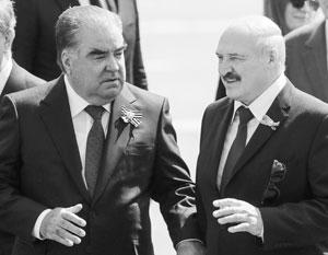 Рахмон и Лукашенко политически в некоторых аспектах очень похожи