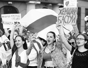 То, что у «белорусской революции» женское лицо, «заслуга» самого Лукашенко