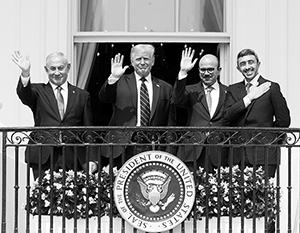 Именно Трамп придумал и провел сделку, которая может раз и навсегда разрешить арабо-израильский конфликт