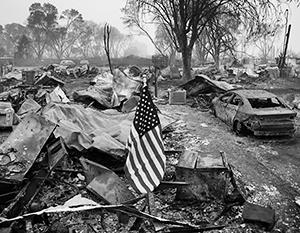 Иностранные террористы не потребовались: с тем, чтобы зажечь свою страну, американцы справились сами