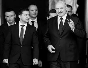 Отношения Зеленского и Лукашенко испортились окончательно