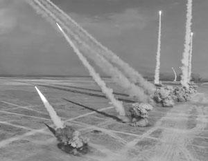 В ходе учений было продемонстрировано эффектное применение зенитно-ракетных комплексов
