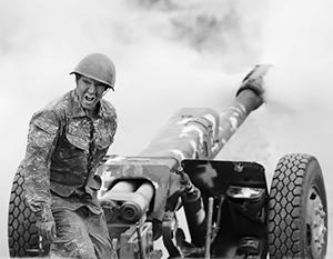Артиллерия активно применяется обеими сторонами конфликта