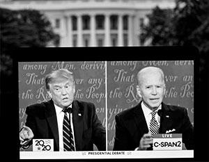 Мнения о том, кто победил в дебатах Трампа и Байдена, разошлись