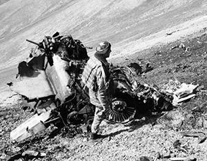 Армения обнародовала снимки с места падения своего Су-25
