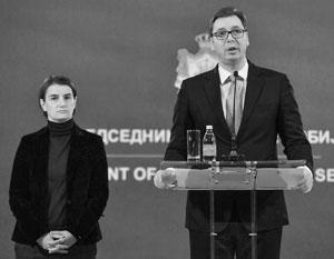 Двадцать лет назад Брнабич и Вучич были бы лютыми врагами, но теперь их странный союз логичен