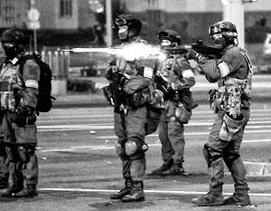 Силовики в Минске готовы стрелять боевыми патронами для недопущения «киргизского сценария»