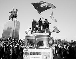Беспорядки в Киргизии организуют одни, а их плодами пользуются другие