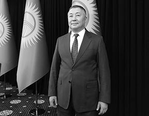 Спикер парламента Киргизии Канат Исаев – главный претендент на то, чтобы стать и. о. президента страны
