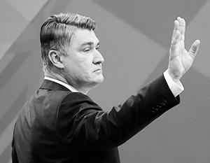 «В изоляции России, таким образом, участвовать я не собираюсь, считаю это глупым и пагубным для Хорватии», – подчеркнул Зоран Миланович
