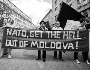 Доля молдаван, недовольных перспективой вступления в НАТО, приближается к 60%