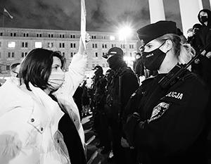 Женщины стали главной действующей силой польских протестов