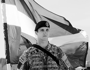Латвийское правительство активно пропагандирует свои вооруженные силы