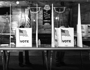 Расклад голосов по штатам почти копирует ситуацию 2016 года, но есть и важное отличие