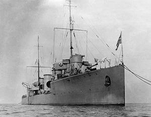 Русские эскадренные миноносцы играли главную роль во время войны на Балтике